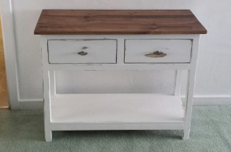 Farmhouse TV Console