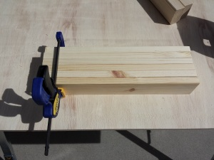 Sanding multiple boards