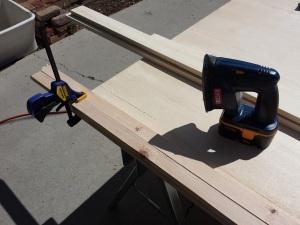 Step 1b Sanding